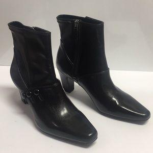 Franco Sarto Treasure Black Midcalf Boots (6M)